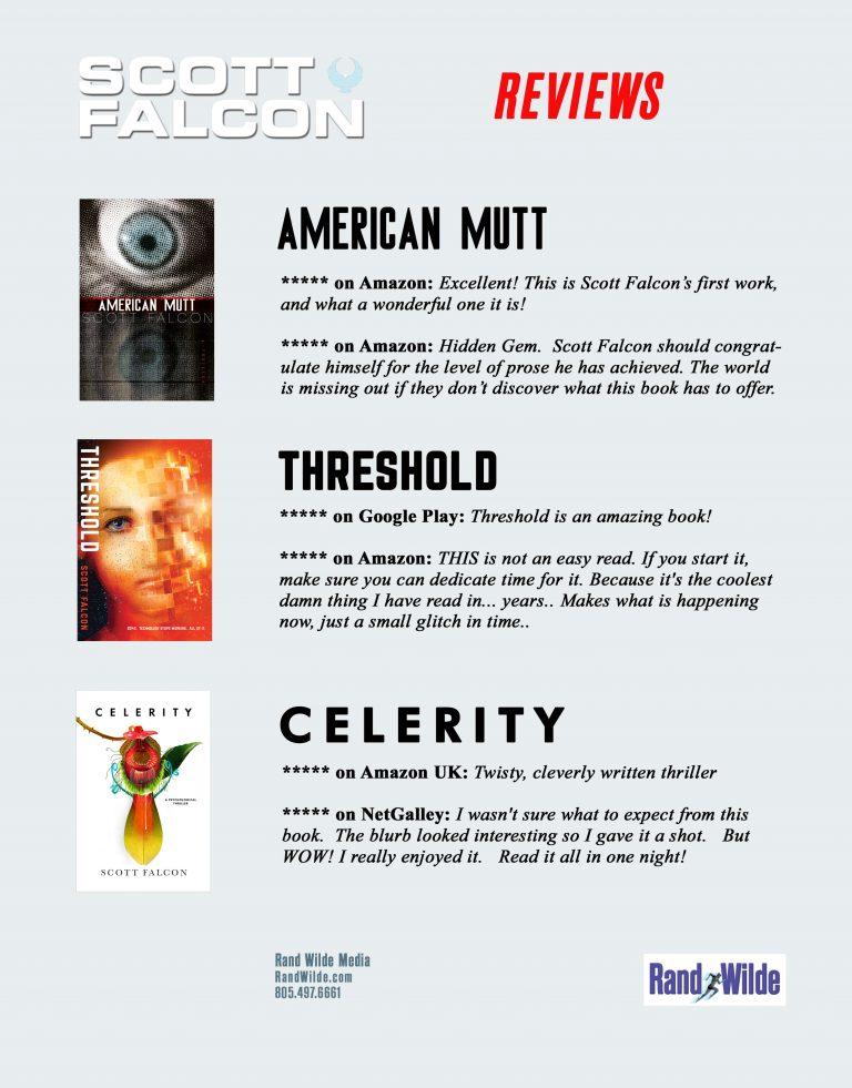 Scott Falcon Novels